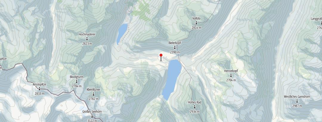 Map / Madlenerhaus