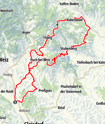 Karte / Apfelland Vespa-Tour