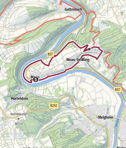 Karte / Binauer Rundweg