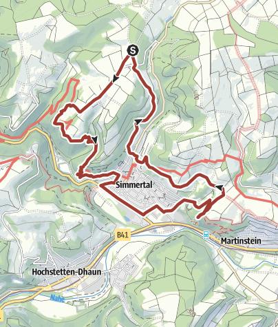 Karte / 20. Oktober 2019: Simmertaler FWG-Wurstwanderung
