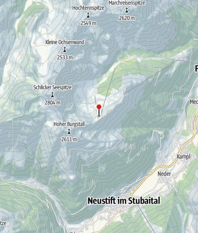 Karte / Sennjochhütte