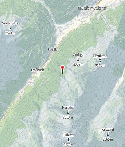 Karte / Klamperbergalm