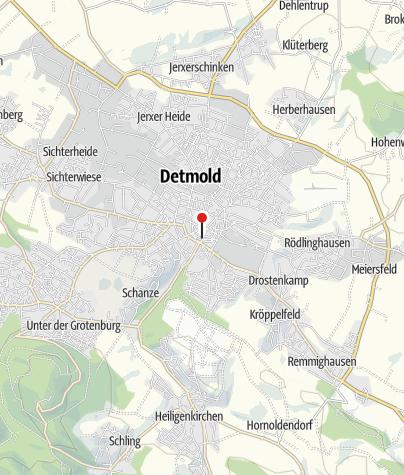 Karte / Tourist Information Detmold