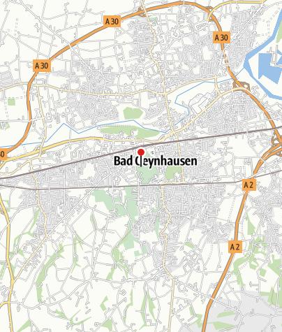 Karte / Badehaus II im Kurpark, Bad Oeynhausen