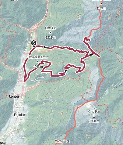 Mappa / Mazza Di Pichea
