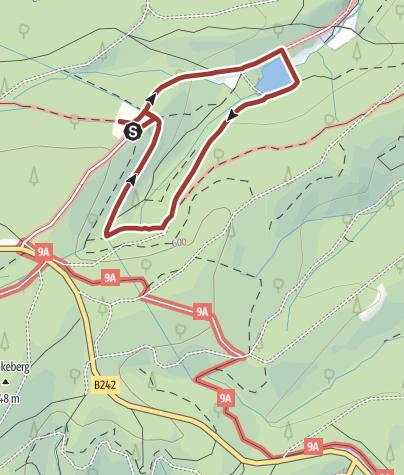 Karte / Welterbe-Erkenntnisweg um das Polsterberger Hubhaus