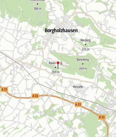 Karte / Burg Ravensberg