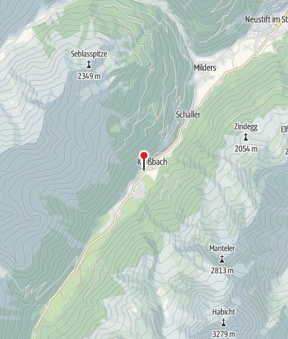Karte / Skialm Krößbach