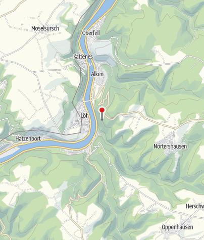 Kaart / Moselaussicht / Richtung Löf, Brodenbach