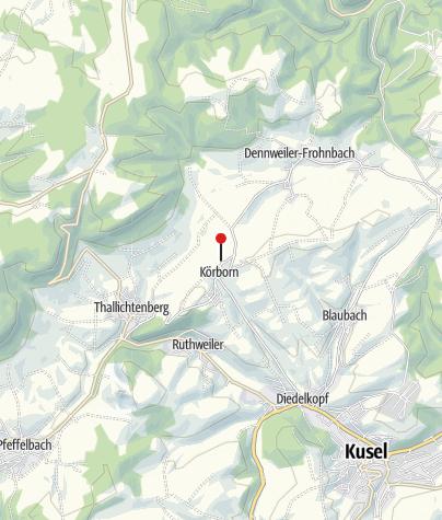 Karte / Römerscheune