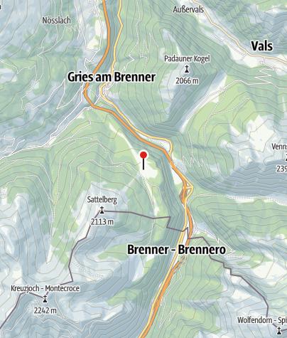 Mapa / Sattelbergalm