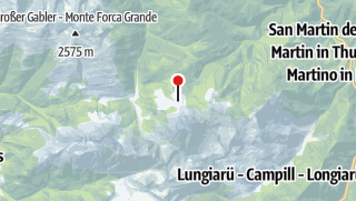 Mapa / Fornella Hütte
