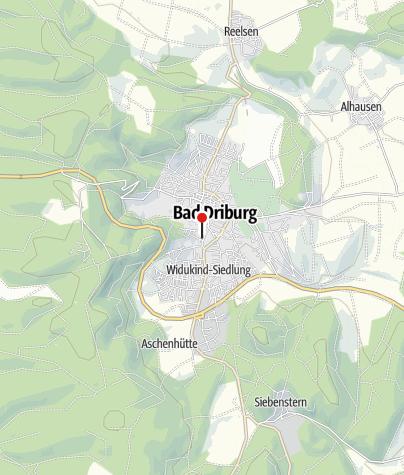Kaart / Ehemaliges Steyler Missionshaus St. Xaver, Bad Driburg
