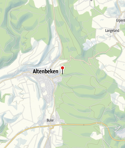 Karte / Bollerborn-Quelle Altenbeken