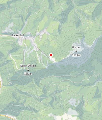 Karte / Ötscherschutzhaus