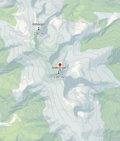 Karte / Zirbitzkogelhütte