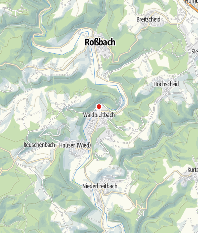Map / Hotel Zur Post Waldbreitbach