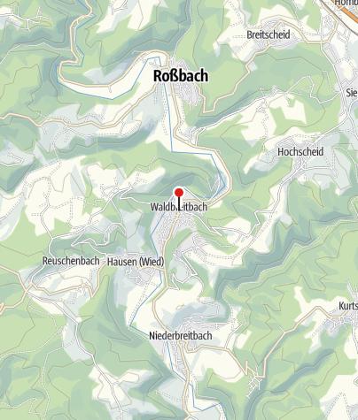 Karte / Hotel Zur Post Waldbreitbach