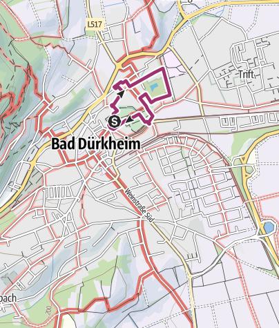 Karte / Bad Dürkheimer Kurrundgang