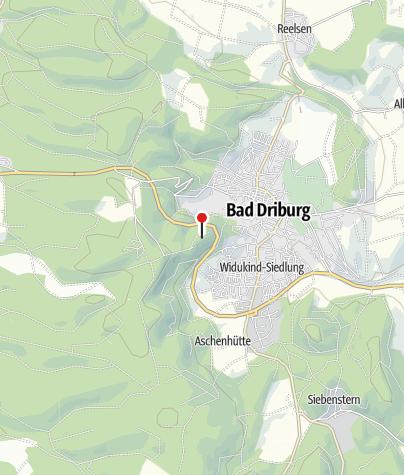 Karte / Iburg Ruine