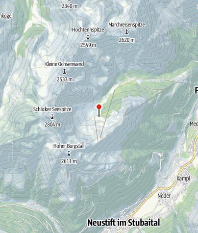 Karte / Zirmachalm