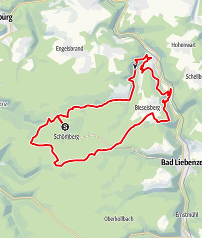 Karte / Große Mountainbike-Runde 03