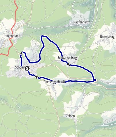 Karte / Heidelbeerweg