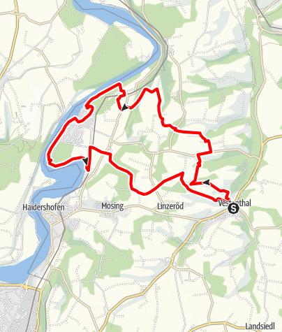 Karte / Vestenthalrunde