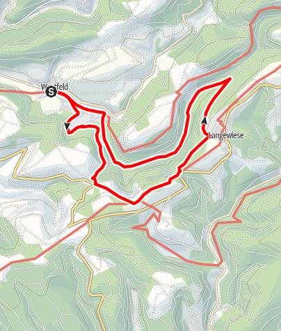 Karte / Rundweg um Westfeld (W4)