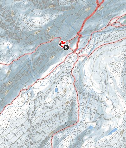 Karte / Edelweiß-Klettersteig