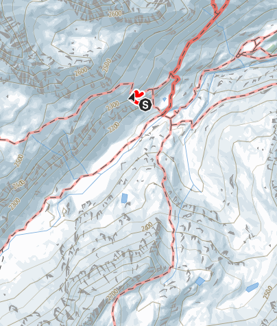 Mapa / Edelweiß-Klettersteig
