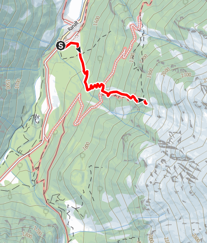 Karte / Ranalt  - Bänkenalm