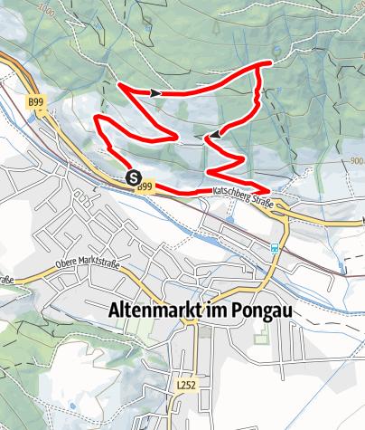 Karte / Schwemmberg-Rundweg Nordic Walken