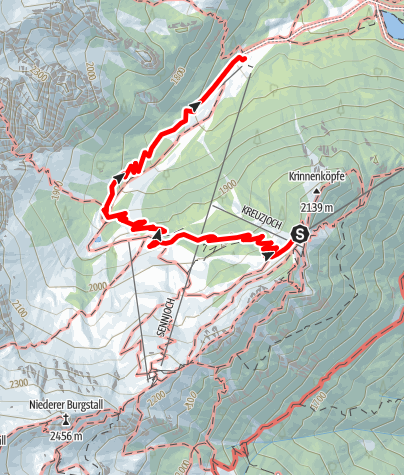 Map / Nature trail Schlick2000