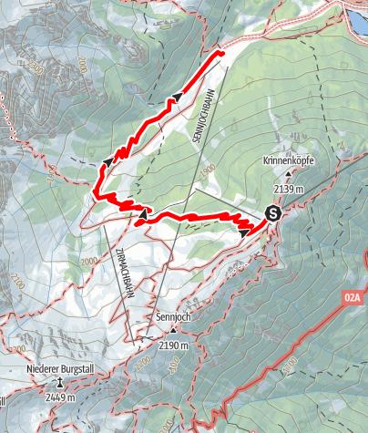 Carte / Naturlehrweg Schlick2000