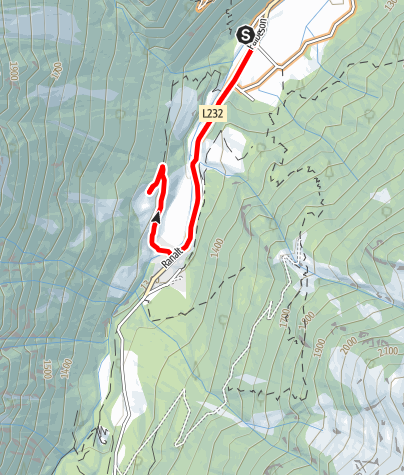 Carte / 569 Falbeson - Oberhausalm