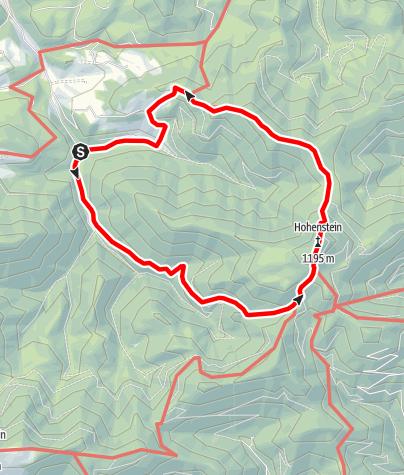 Karte / Hohenstein