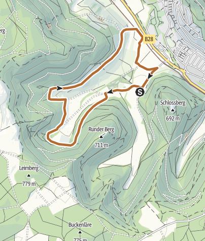 Karte / Durchs Maisental zum Galgenberg - Nr. 4