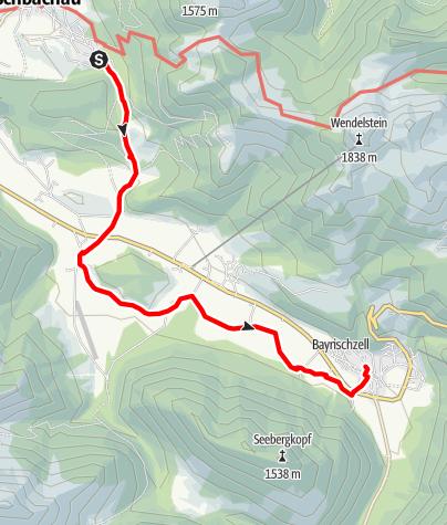 Karte / Wendelstein-Ringlinie: Leitzachtal-Tour