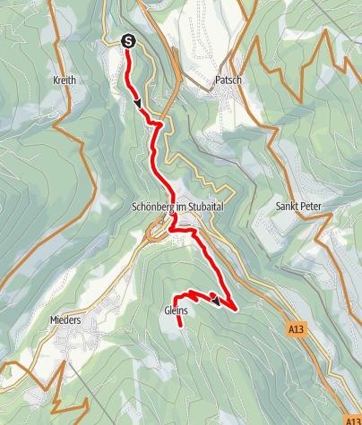 Carte / 504 Schönberg