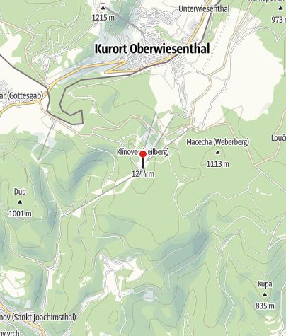 Karte / Restaurant Klínovec