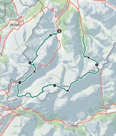 Map / Steinbock-Tour