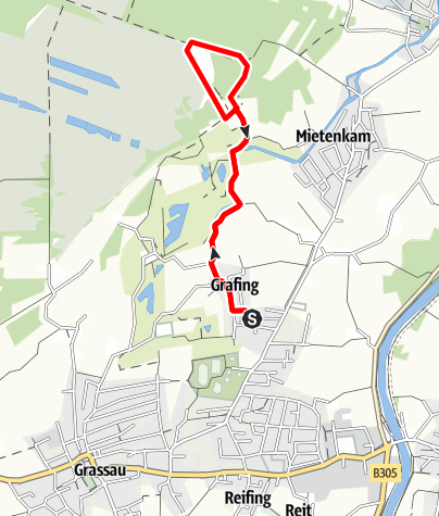 Karte / Kleine Moorrunde - genial vital Tour 1