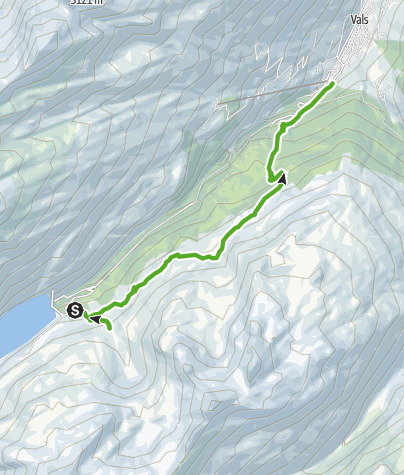 Map / Zerfreila - Ampervreila - Vals