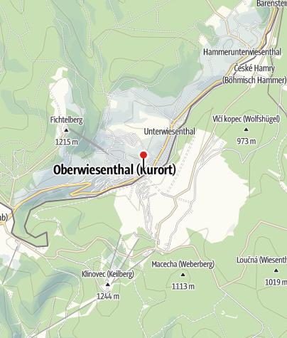 Karte / P1 Kurort Oberwiesenthal