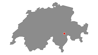Karte / Zerfreila - Läntahütte SAC - Furggelti - Zerfreila