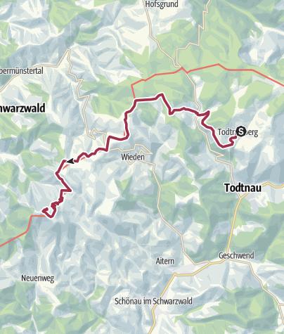 Karte / Zum Belchen