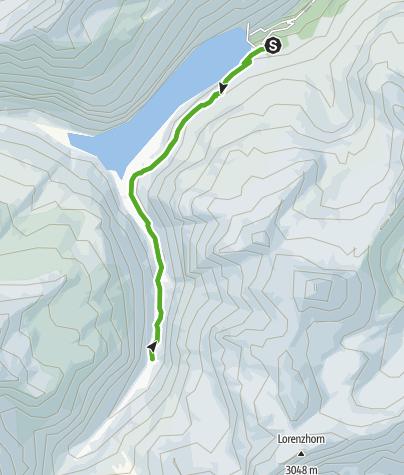 Map / Zerfreila - Canaltal - Canalalp - Zerfreila