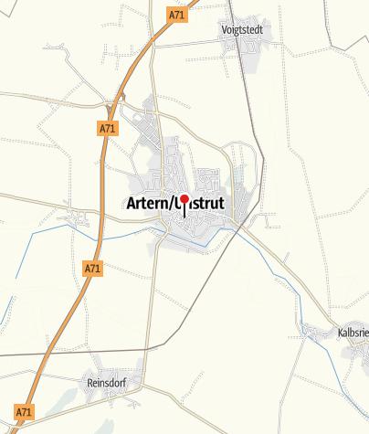 Karte / Ferienhaus Loeschmann