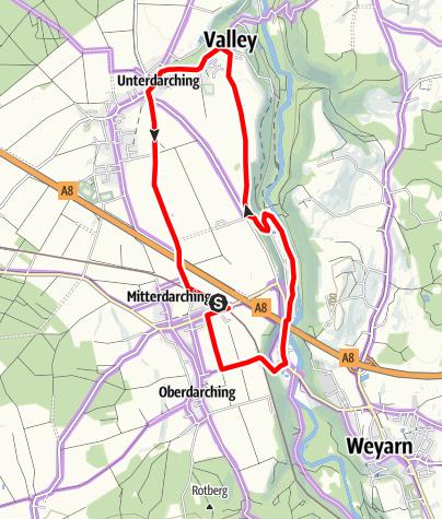 Karte / Graf-Arco-Rundweg